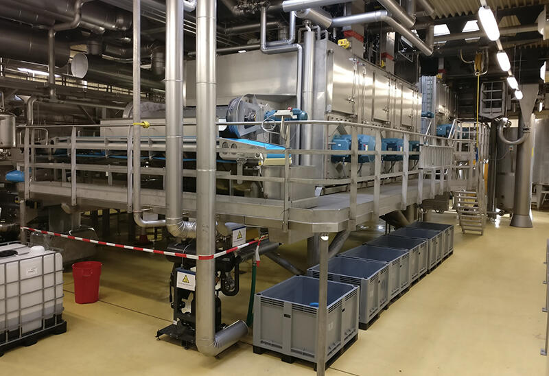 Tek-Dry Systems French Fry Drying Factory Equipment