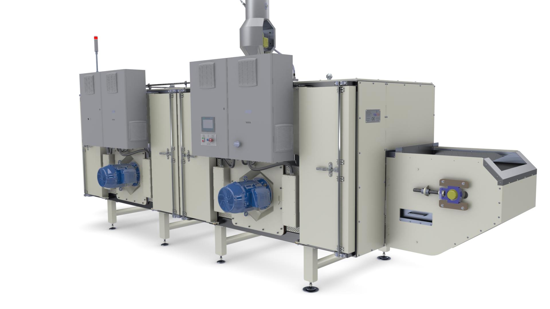 Tek-Dry Systems Snack Food Dryer
