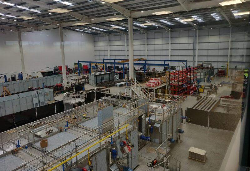 Tek-Dry Systems Factory Floor At Frontier Park Blackburn Lancashire