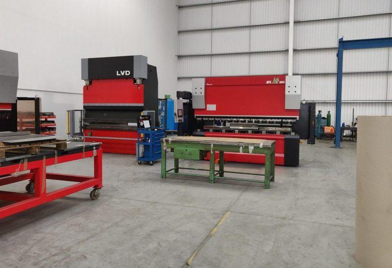 Tek-Dry Systems Amada Press Brake Equipment