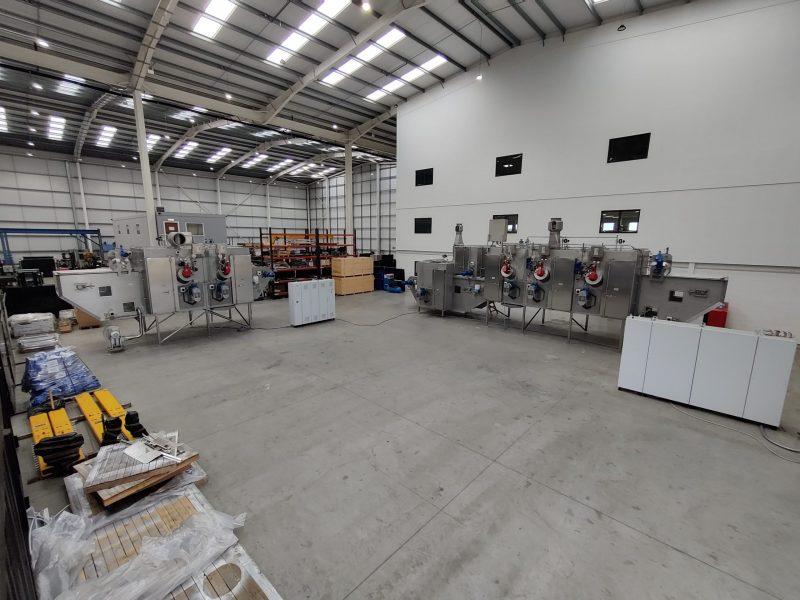 Tek-Dry Systems New Factory shop floor
