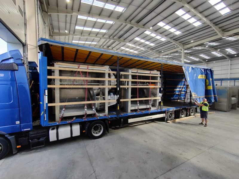 Tek-Dry Systems Loaded Lorry
