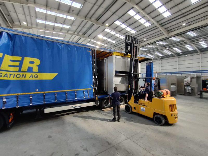 Tek-Dry Systems Forklift Truck Loading