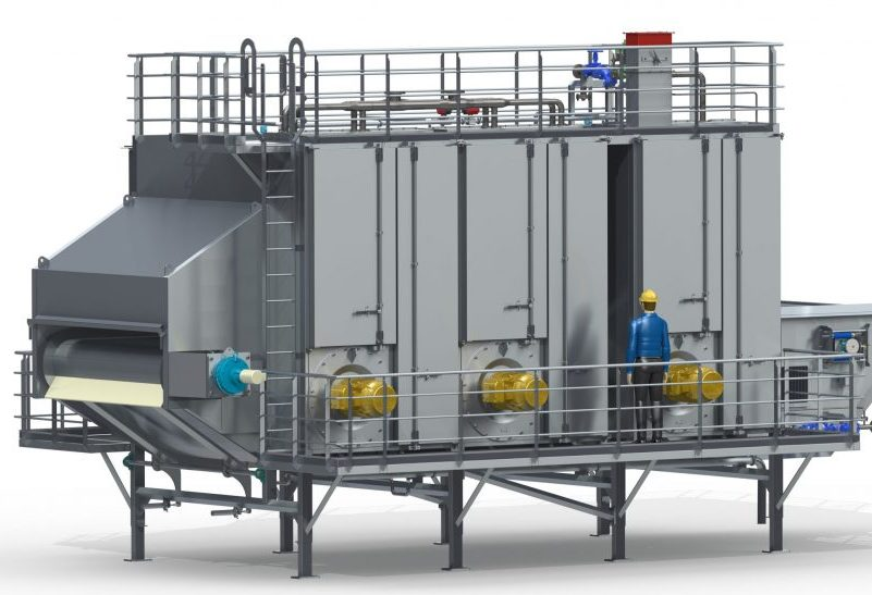 Tek-Dry Systems Preform Dryer & Cooler